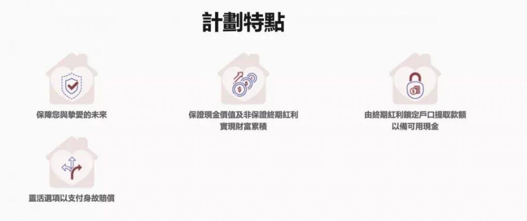 AXA香港安盛终身寿  享逸人寿保障计划